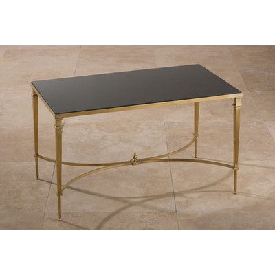 French Square Brass U0026 Granite Coffee Table   Perfect, If It Had A White  Marble Top Instead!