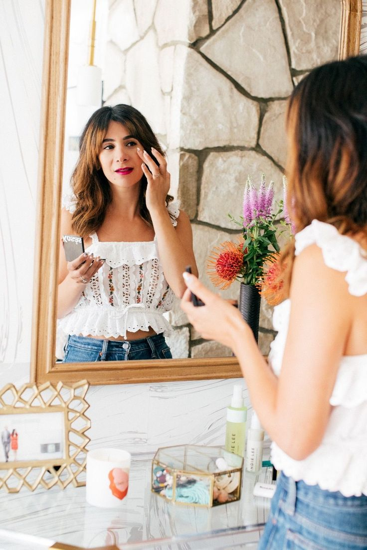 This summer I've opted for more of a dewey look that works for day and night. Shop the best clean beauty products for su…
