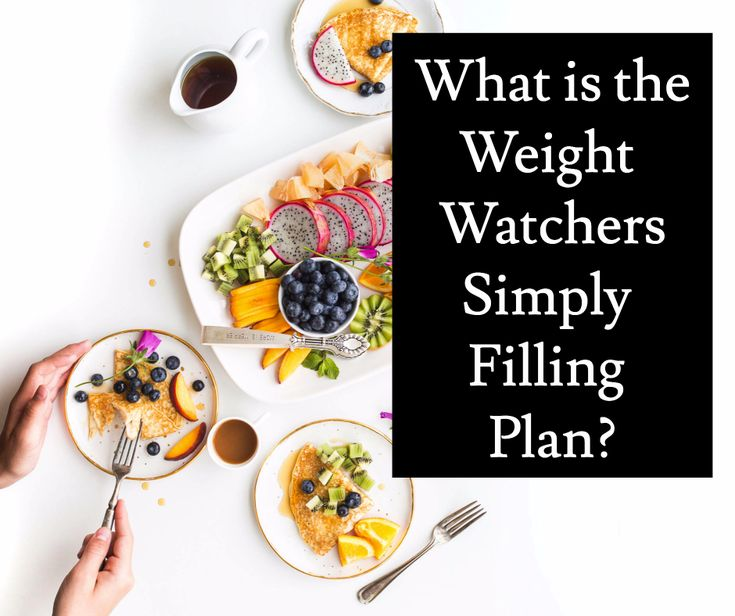 What is Weight Watchers Simply Filling?