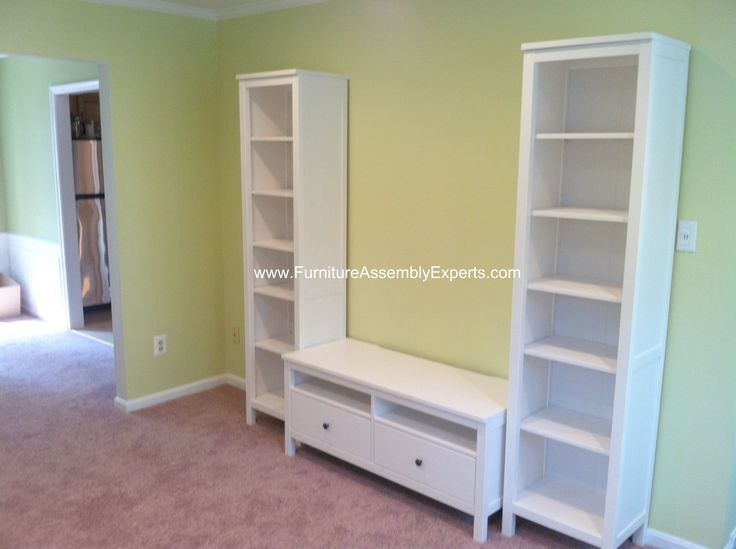 Ikea Hemnes Tv Stand And 2 Hemnes Bookcases Assembled In Baltimore Md By Furniture  Assembly Experts