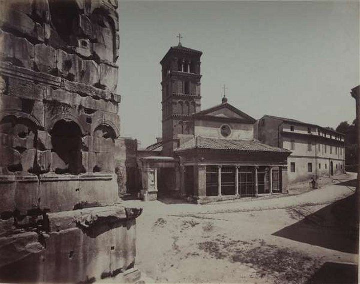 "St George Velabrum ( ""Velabrum to"" or ""in Velabrum""? ) Year 1869"