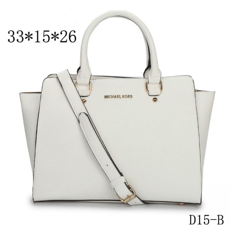 MICHAEL Michael Kors Large Selma Top-Zip Satchel in White
