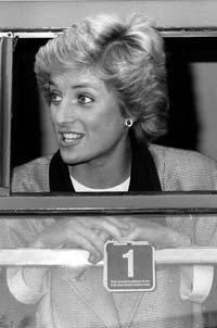 June 2 1988 Diana visits the East Sussex Drugs Advisory Council training course at Pelham House, Lewes, East Sussex  Diana opened the new Magistrate's Court, Friars Walk, Lewes, East Sussex