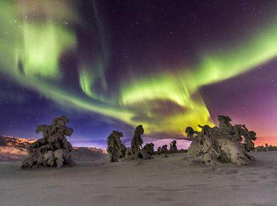 Aurora boreal videos: Las luces del norte, La Aurora Boreal, Finlandia, Laponia