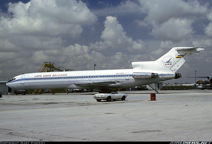 Boeing 727-2K3/Adv, Lloyd Aereo Boliviano, CP-1367, cn 21495/1403. Foto: Miami, United States, June 1981.