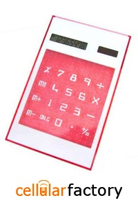 Lg USB HUB Mouse Pad and Calculator Red Solar battery