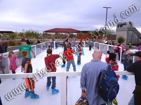 Portable Ice Skating Rink Rental