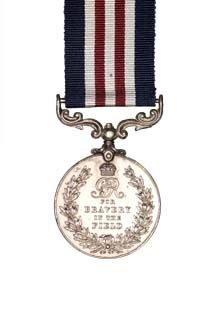 The Military Medal reverse view