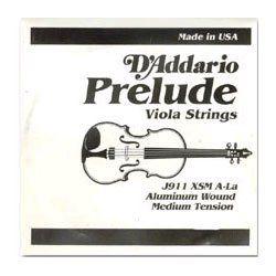 """D'Addario Prelude Viola Strings SET, short (under 15 by D'Addario. $19.00. D'Addario Prelude Viola Strings Set - Medium Gauge - Medium Gauge - Short Scale (under 15"""")"""