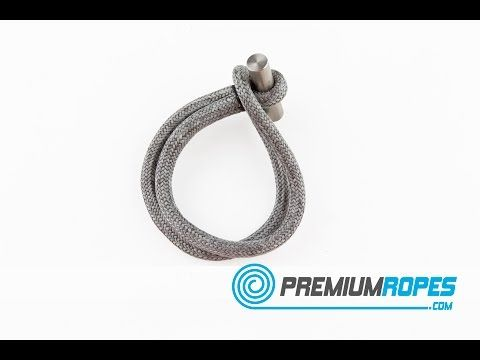 11.2.2 Dyneema continuous loop with cover - extreme strength - YouTube
