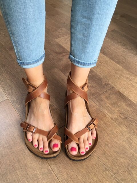 Love my Yara Birkenstock sandals!