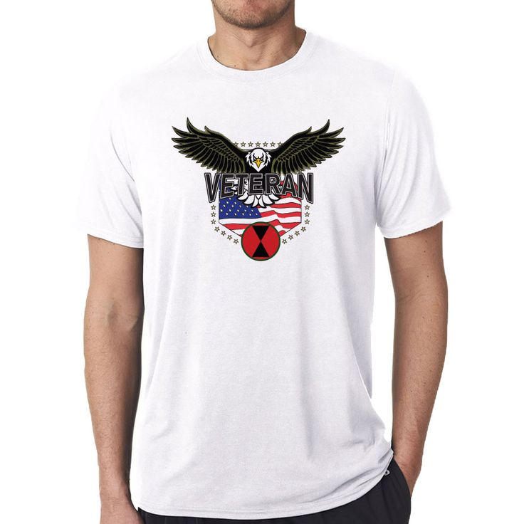 Show your 7th Infantry Division pride with this comfortable performance T-Shirt. These shirts will keep you cool and comfortable as they offer performance moisture wicking. This shirt feels like cotton but dries 4x faster! Our sublimation technology means the image will last a lifetime & will not crack or peel. Designed, Printed & Sublimated in the USA -Fabric imported.