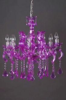 Best 25 purple chandelier ideas on pinterest purple stuff pinky purple chandelier google search mozeypictures Image collections