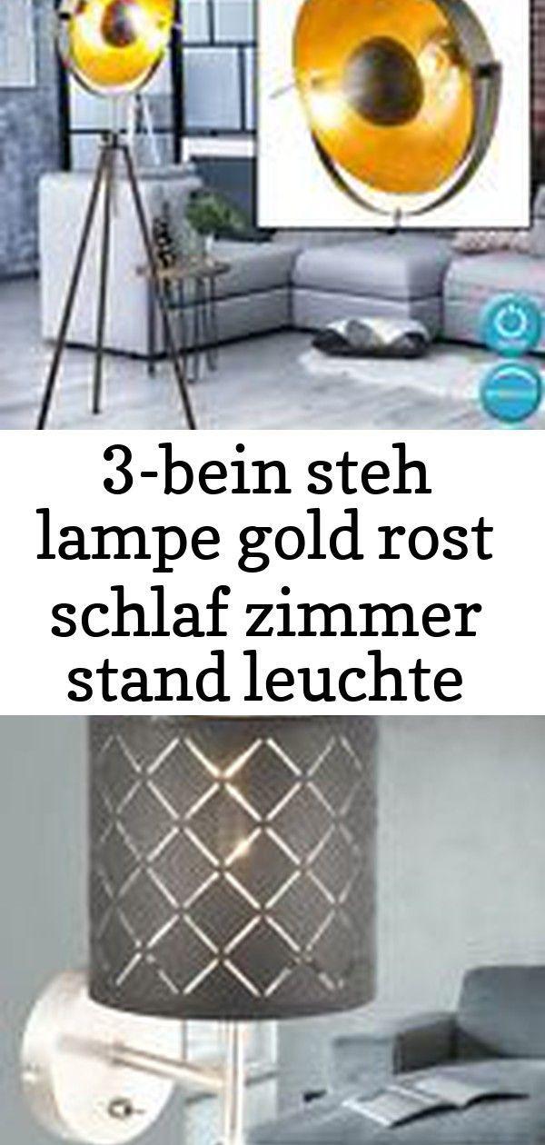 3 Beinige Lampe Goldrost Schlafraum Stander Lichtfleck Hohenverstellbar Suchen Sie Eine Beleuchtung 3 Lampe Gold Lampen Beleuchtung