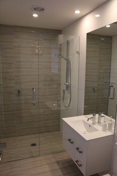 Stylish bathrooms designed with convenience and comfort in mind...