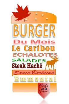 Le burger du mois de Novembre!