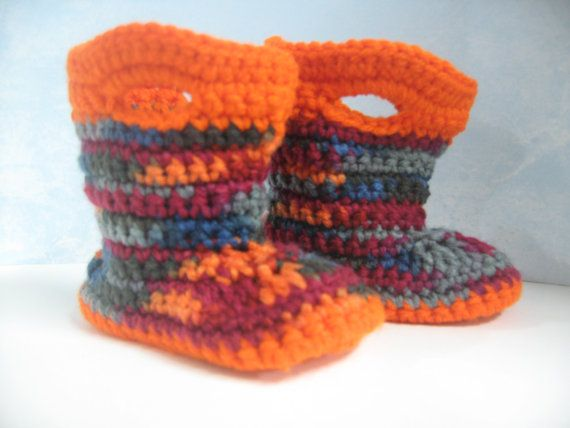 Crochet Pattern Baby Rain Boots : 17 Best images about Baby booties 2 - Boots on Pinterest ...