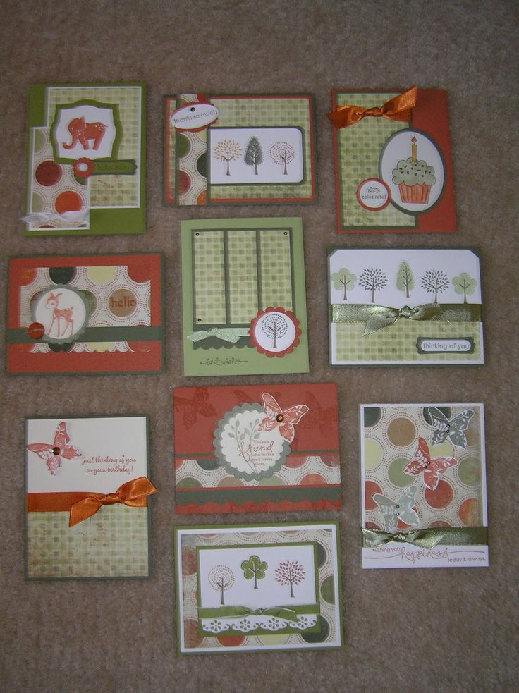 Paper, Pansies and Pachyderms: One Sheet Wonder Card Sets