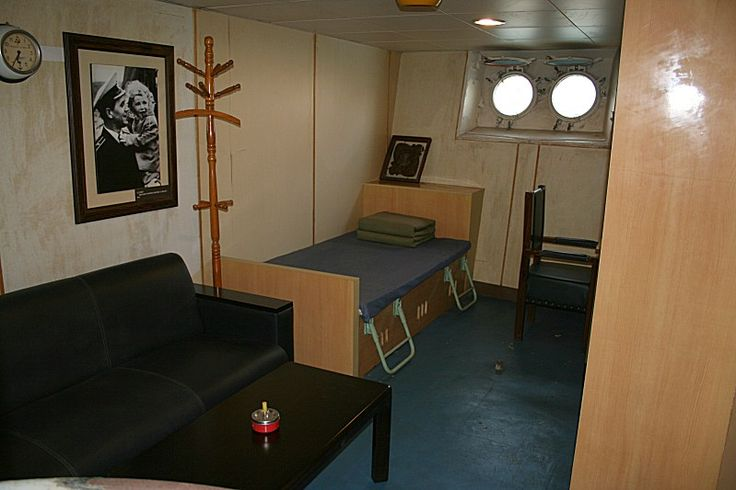 Soviet Unions Submarine Captains Quarters