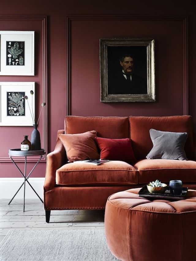 The velvet trend is still going strong in 2017 Photo frenchbydesign
