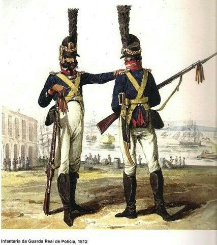 Infantaria da guarda real portuguesa 1812