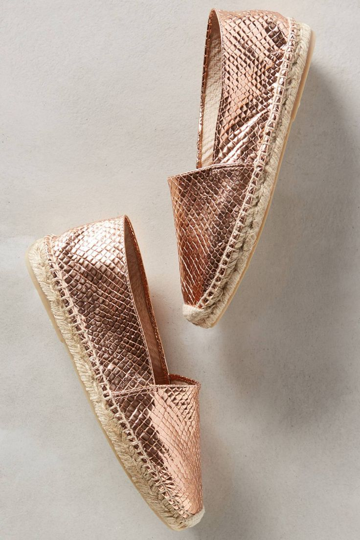 Selena Skipper Rose Espadrilles by Maypol #anthrofave