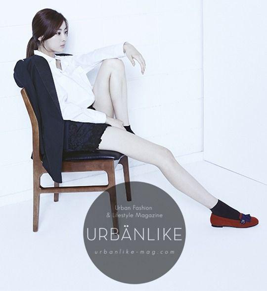 Kang Sora - Urban Like Magazine August Issue '13