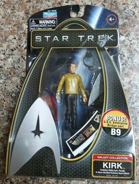 Star Trek Captain Kirk Action Figure Galaxy Collection Playmates 2009 -NEW