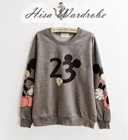 Hisa Wardrobe: Mickey Grey