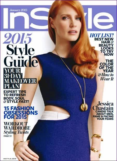 Jessica Chastain – InStyle USA
