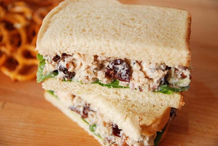 cherry chicken salad - suspect this might be a beggar's banquet recipe (a must try!)
