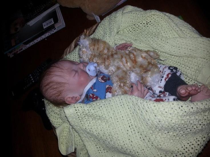 Aksel Nataniel, reborn doll. Avery kit