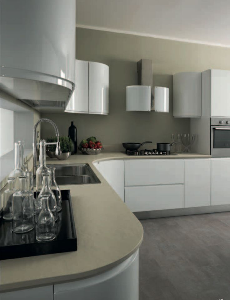 axis cucine venus kitchen with round corners modern design kitchen modern axis cucine. Black Bedroom Furniture Sets. Home Design Ideas