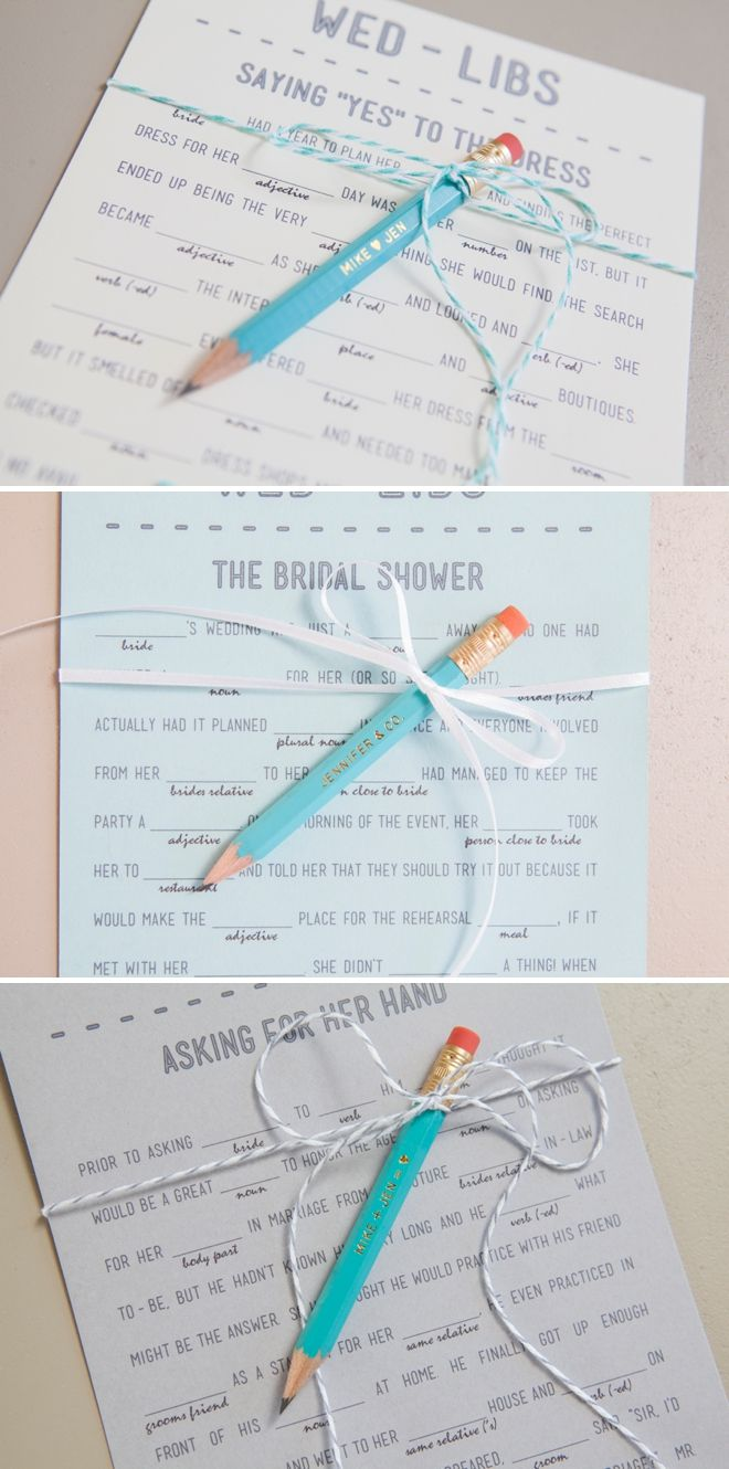 14 Free Fun and Printable Wedding Mad