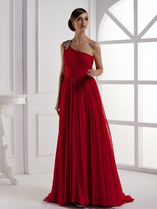 Beautiful+Sleeveless+With+Natural+Waist+Dress+For+Girls $300.00