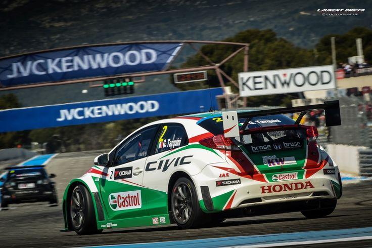 WTCC Castellet victoire Citroën pour Muller et Lopez(画像
