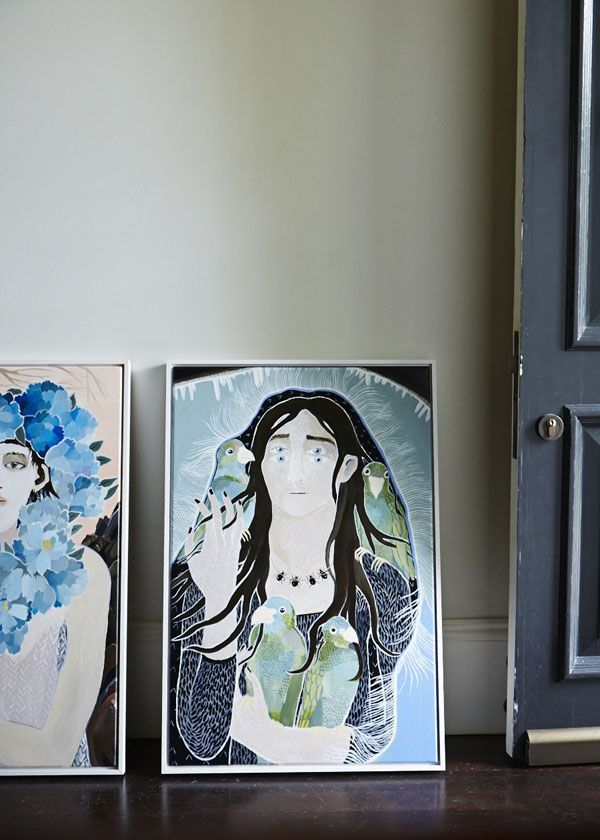 Leah Fraser and David Shrimpton's Home on The Design Files