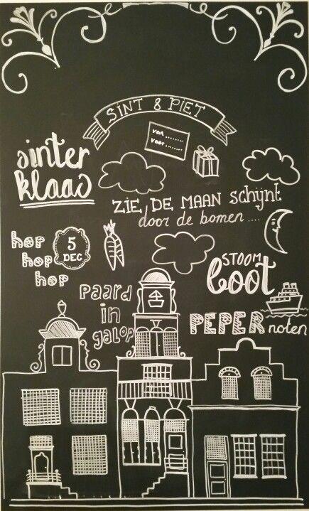 chalkboard | sinterklaas