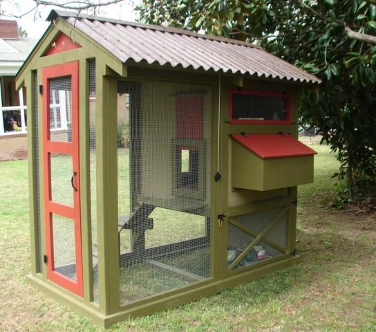 19 best animal shelters with ondura roof images on for Cute chicken coop ideas