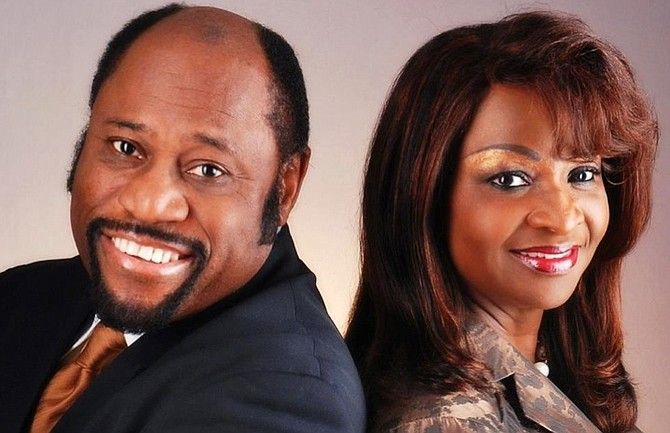 Dr. Myles Munro and Mrs. Ruth Ann Munroe - Provided by Forbes-RIP!!!  I LOVED to hear him preach!