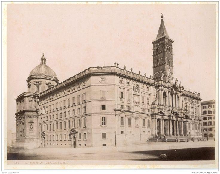 Italie, Roma, Santa Maria Maggiore    1880 - Foto