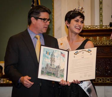 Philadelphia City Council Honors Its Rose | irishphiladelphia.com
