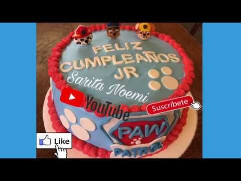 PAW PATROL CAKE | PASTEL PATRULLA CANINA | PASTEL DE TRES LECHES | - YouTube