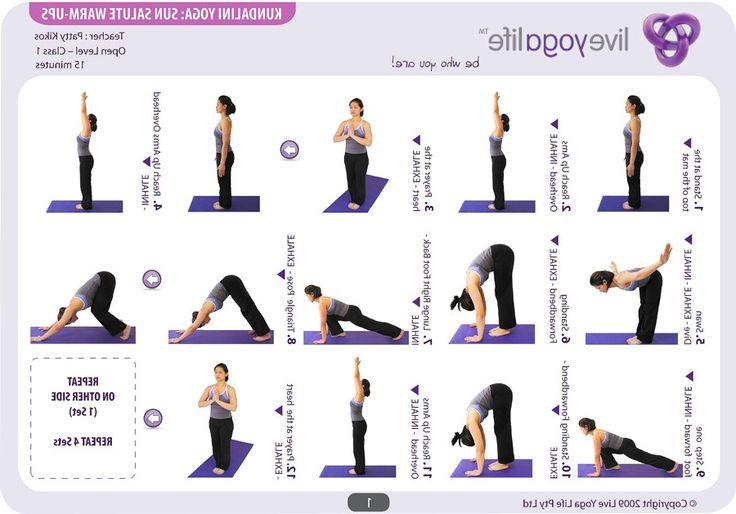 Printable Chair Yoga Routines Z1b8raLN | Healthy Body ...