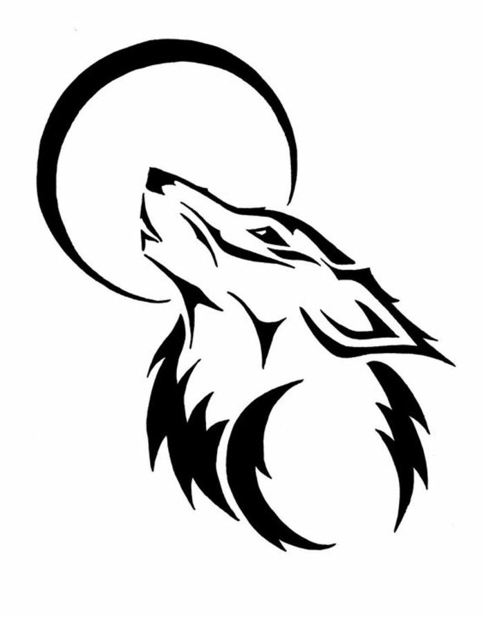45 Wolf Tattoo Ideas Wolf Drawing Girl Drawing Images Wolf Drawing Easy