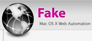""" Fake "" Mac OS X Internet Web Browser Automation and Webapp Testing made Simple"