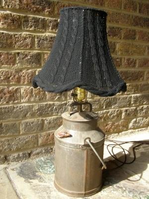 milk jug lamp: Milk Jug, Knitting Crochet Crafts, Jug Lamps, Renewals Treasure