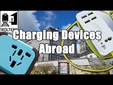 How to Charge Your Electronic Devices When You Travel - YouTube