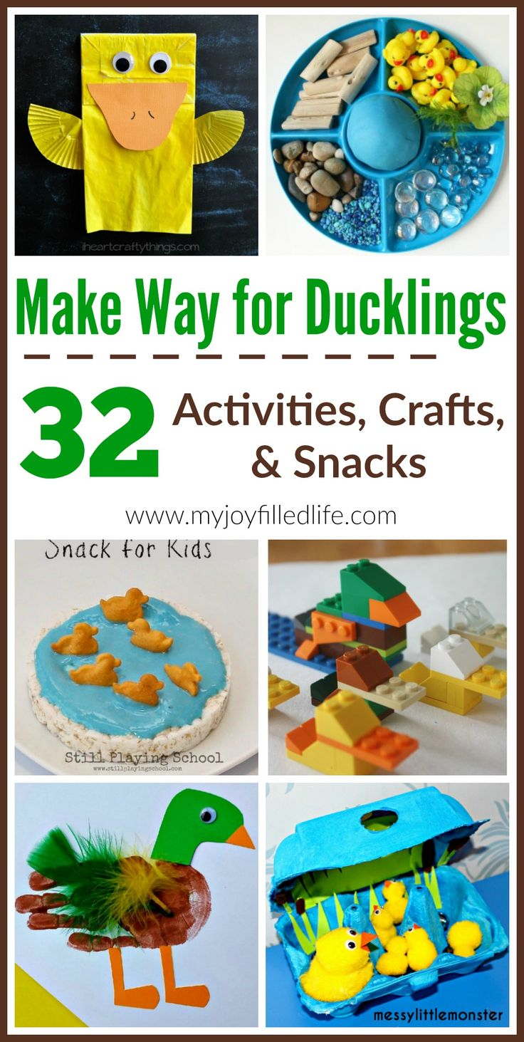 Make Way For Ducklings - Story Time Activities