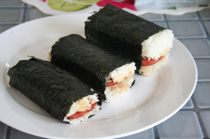 wikiHow to Make Spam Sushi -- via wikiHow.com    (Spam Musubi)